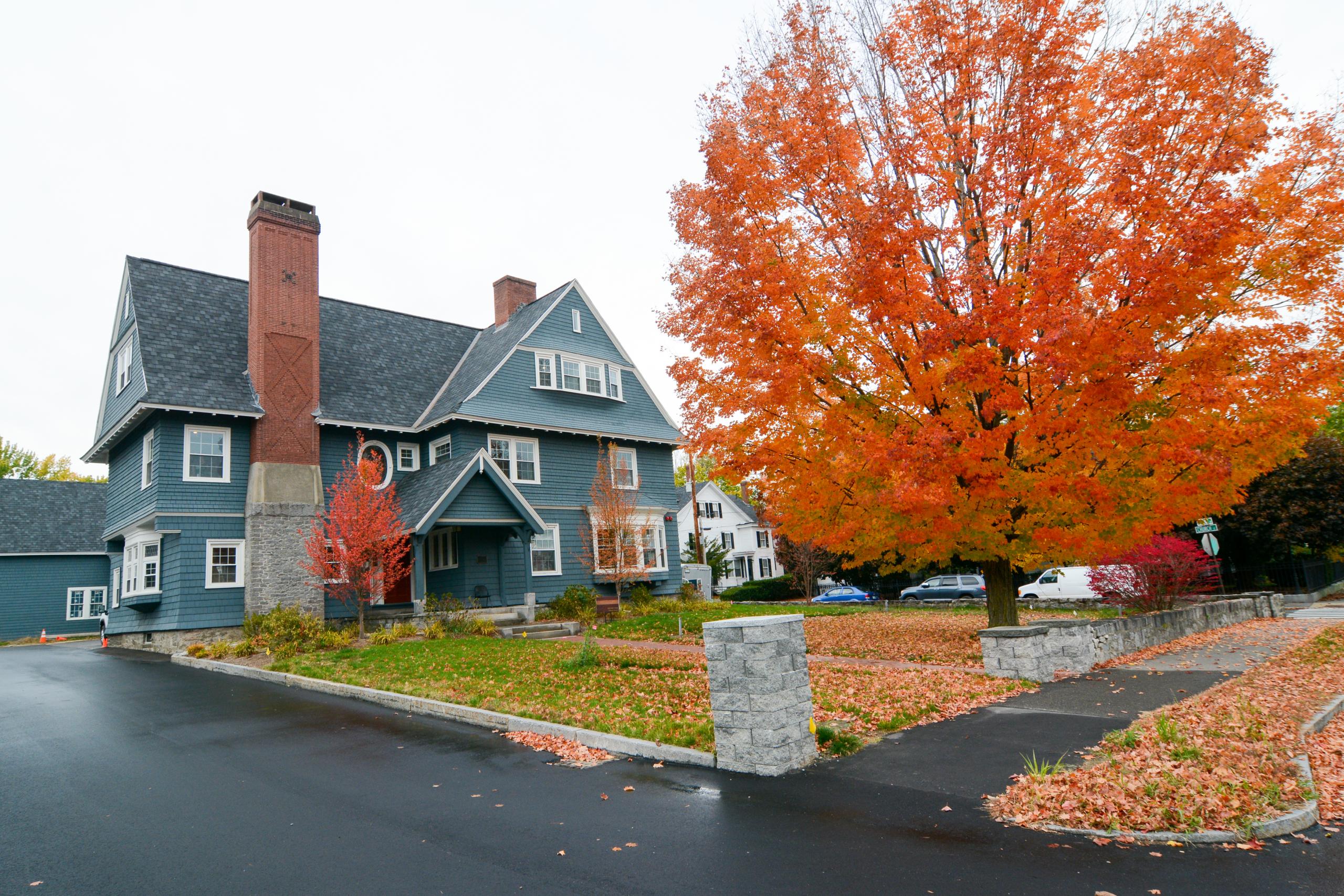 Fall In Concord, New Hampshire